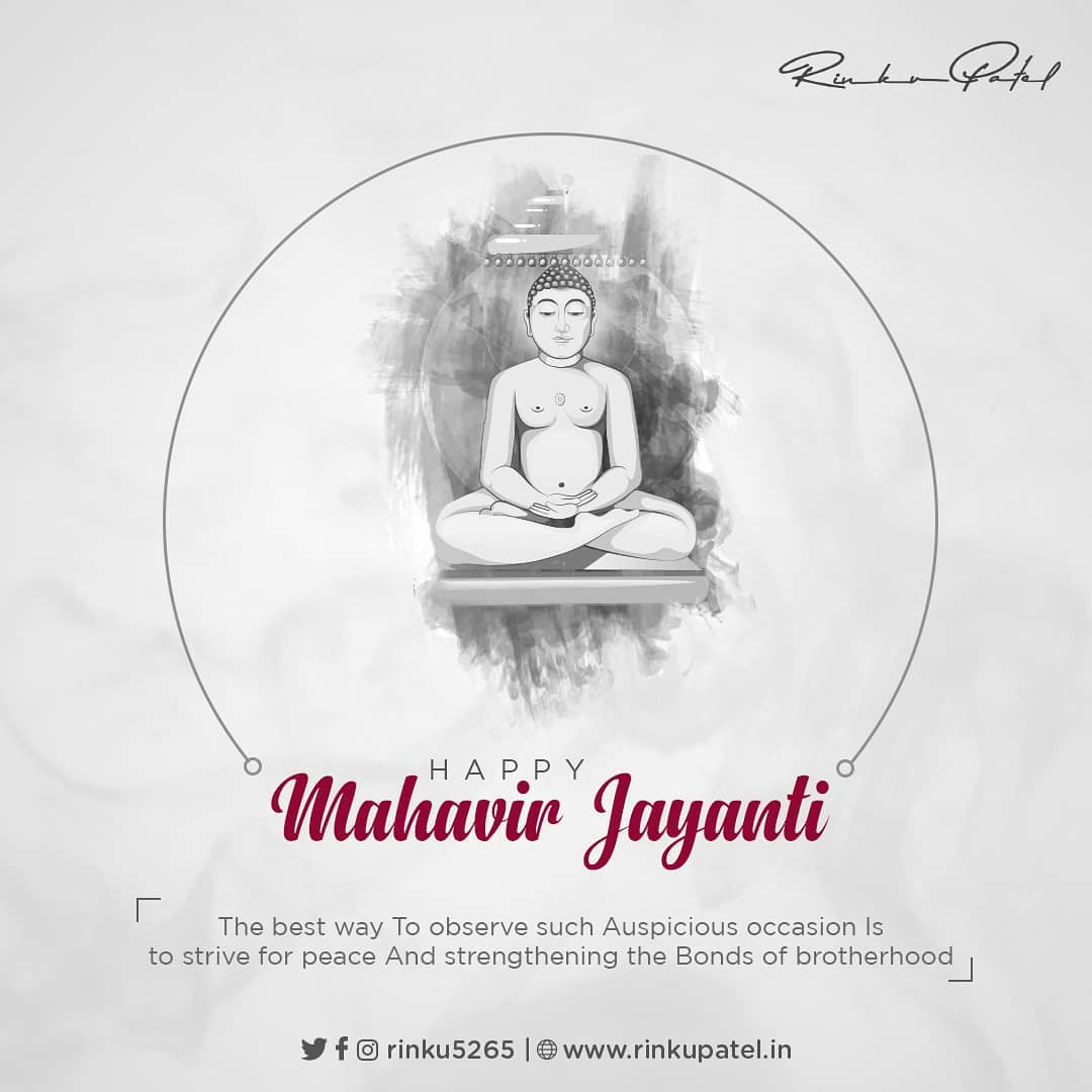 Have compassion towards all living beings. Hatred leads destruction. There is no enemy out of your soul.The real enemies live inside yourself, they are anger, proud, greed, attachmentes and hate.  #Mahavir #Mahavira #MahavirJayanti #Mahavirswami  #MahavirJanmaVanchan #MahavirJanmaKalyanak #LordMahavir #Jain #Jainism #Karma #Sorry #Forgiveness #Peace #nonviolence