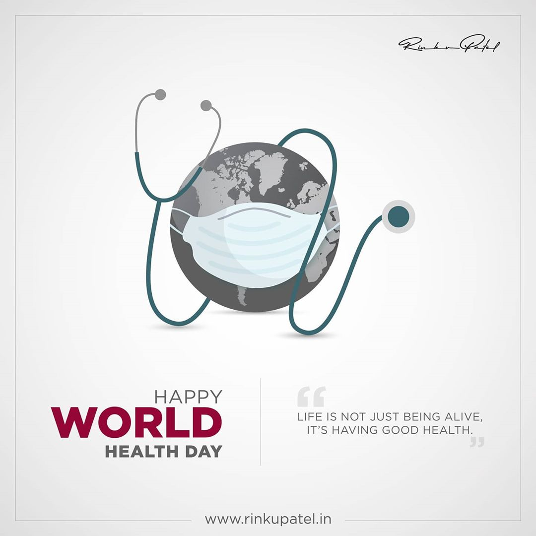 Everyone deserves to live a healthier happier and longer life. Let's stand together on this great occasion of world health day. . #WorldHealthDay2020 #HealthDay #WHO #HumanHealthCare #HealthForAll #StayHome #StayHealty #StaySafe #Covid19 #Corona #Health #Healthy #HealthyLife #HealthyFood #HealthyLifestyle #HealthCare #HealthIsWealth #Doctors #Medical #WorldHealth #Wellness #GlobalHealth #rinku5265 #coach #rinkupatel