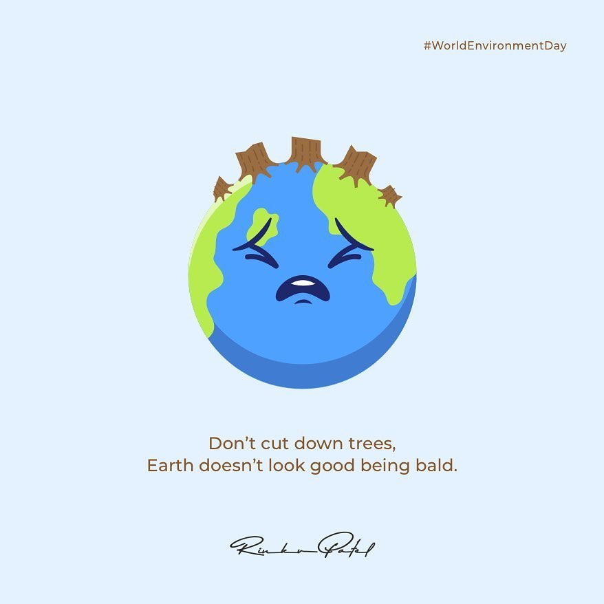 Rinku Patel,  worldenvironmentday, environment, trees, change, oceans, entrepreneurs, entrepreneurship, business, world, entrepreneurlife, rinku5265