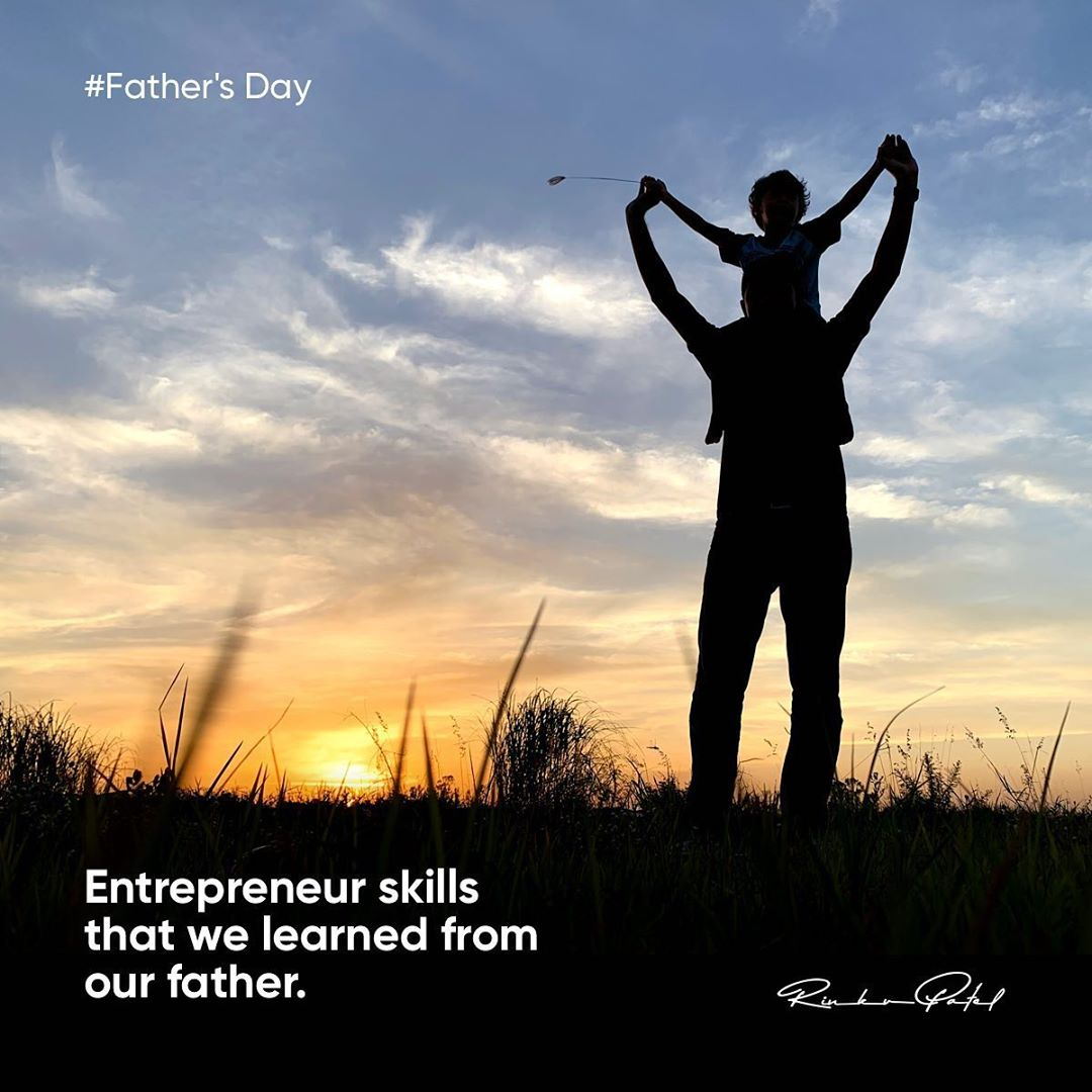 """One father is more than a hundred schoolmasters."" —George Herbert . . . #happyfathersday #father #hero #entrepreneur #entrepreneurlife #entrepreneurship #entrepreneurmindset #business #businessman #businessowner #rinku5265"