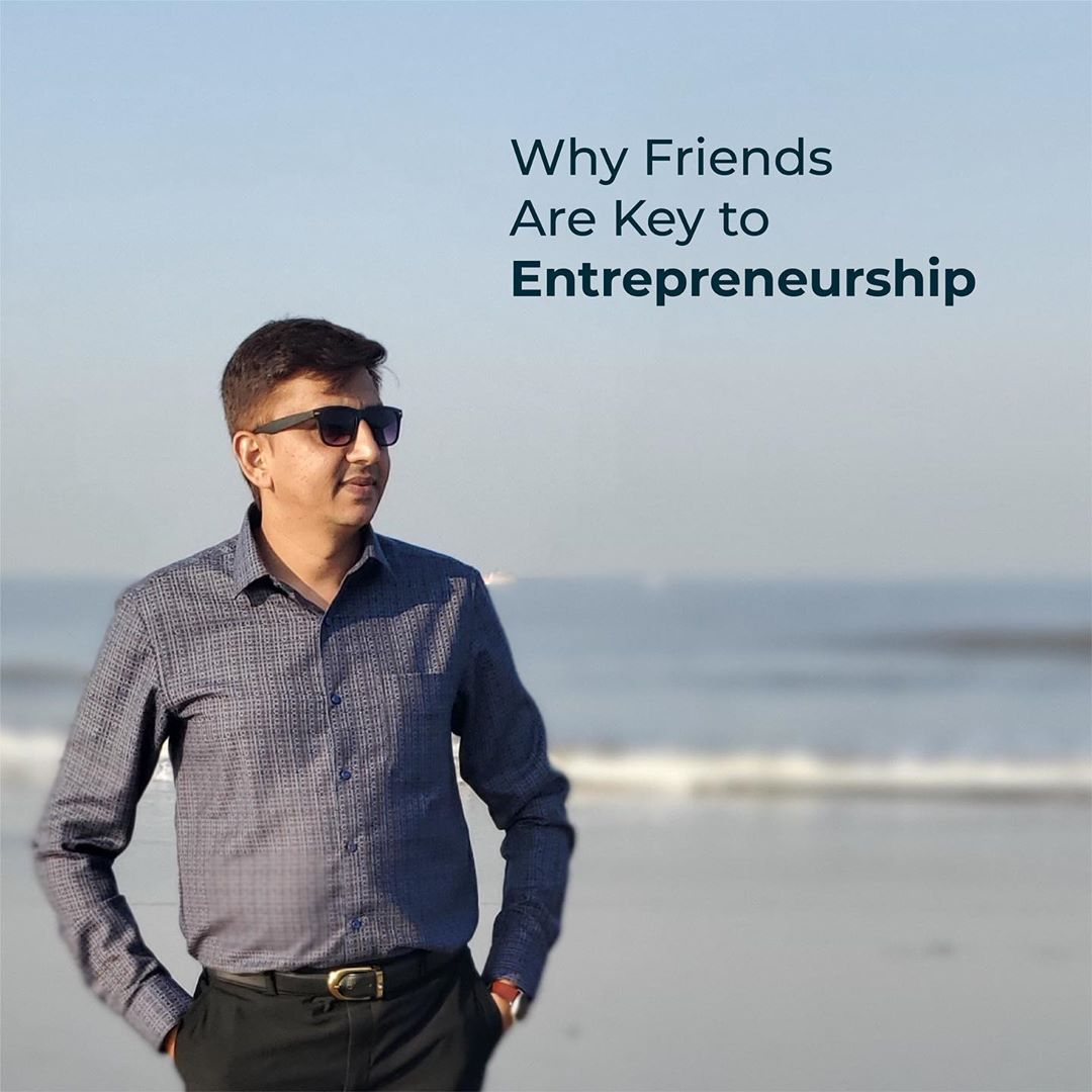 Why Friends are key to a successful entrepreneurship . . . #entrepreneur #entrepreneurlife #entrepreneurship #friends #success #entrepreneurmindset #business #successful #anarrubtech #anarrubtechpvtltd #rinku5265
