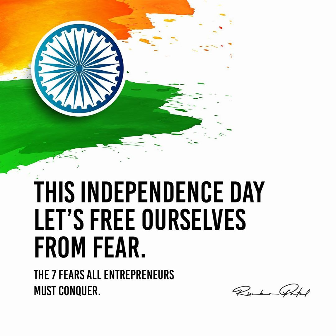Rinku Patel,  independence, independenceday, india, independencedayindia, 74thindependenceday, freedom, 15thaugust, entrepreneur, entrepreneurlife, entrepreneurship, entrepreneurmindset, bright, mindset, moneymindset, moneyminded, moneymanagement, business, businessman, rinku5265, anarrubtechpvtltd