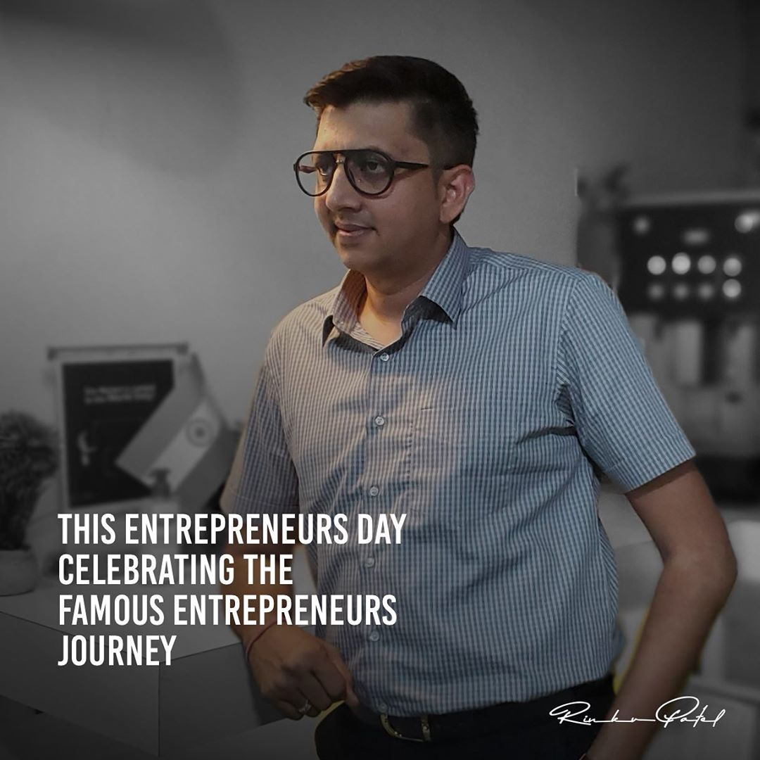 Rinku Patel,  happyentreprenursday, worldentrepreneursday, worldentrepreneurday, worldentrepreneurs, entrepreneur, entrepreneurlife, entrepreneurship, entrepreneurmindset, bright, mindset, moneymindset, moneyminded, moneymanagement, business, businessman, rinku5265, anarrubtechpvtltd