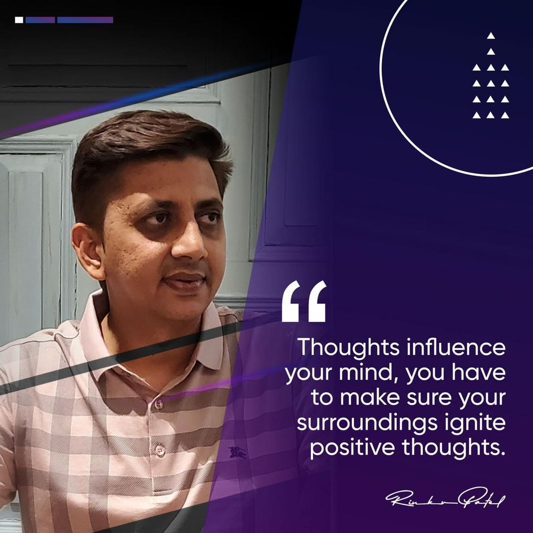 Positive thoughts leads to successful routine🎯  #positivevibes #positivequotes #positivethoughts #positivethinking #feelgood #feelinggood #rinku5265 #entrepreneur #businessideas #businesssuccess