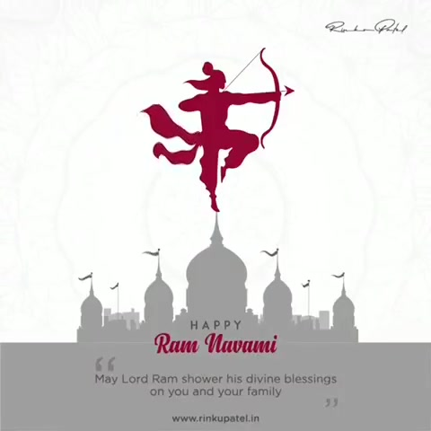 May the almighty Lord Rama bless you all,with good things and perfect health.Happy Ram Navami !! #ramnavami  #happyramnavmi2020 #stayhome  #staysafe #coronavirus #covid19