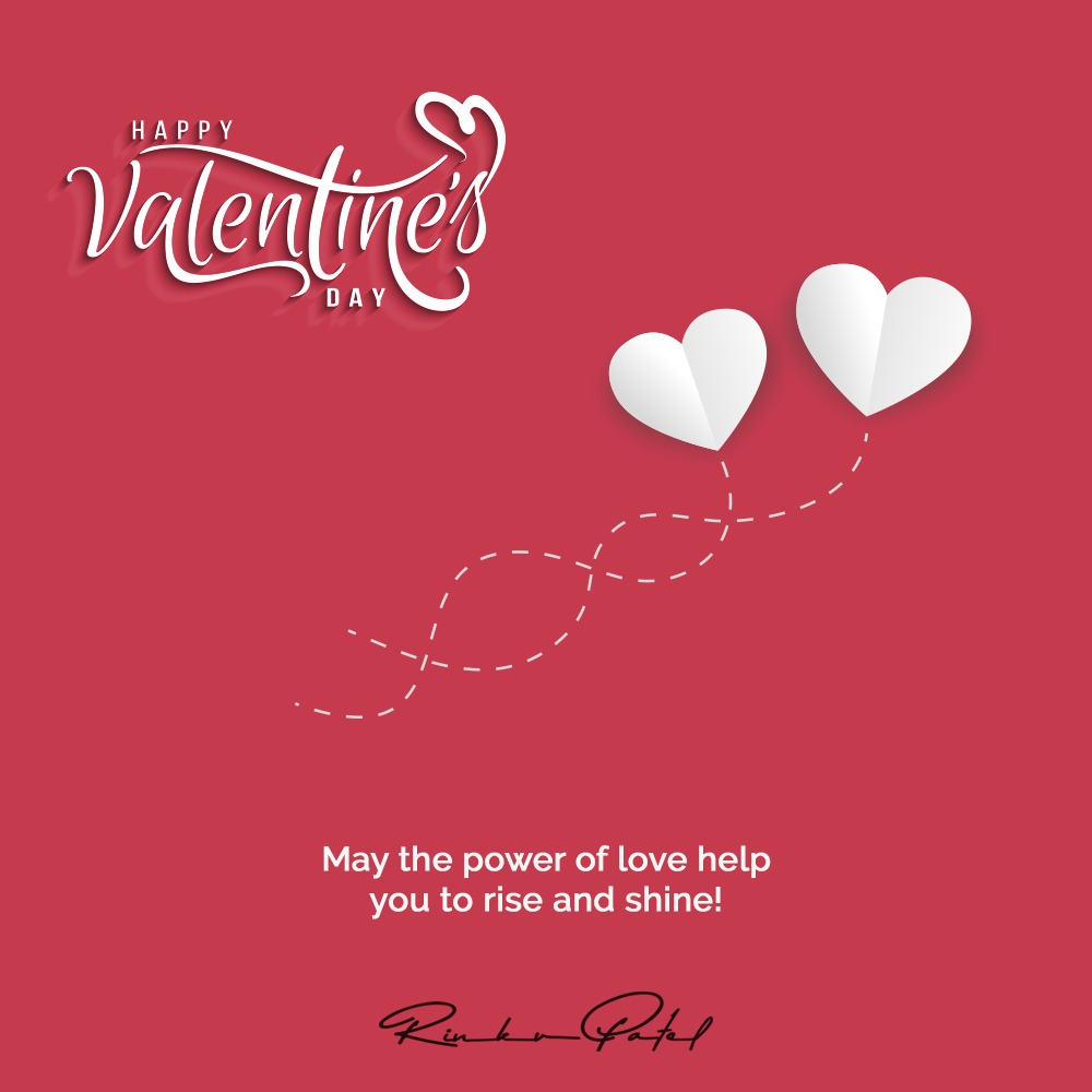 May the power of love help you to rise and shine!  #HappyValentinesDay #ValentinesDay2020 #ValentinesDay #entrepreneur #business #motivation #entrepreneurship #success #entrepreneurlife #smallbusiness #marketing #love #startup #inspiration #coach #businessowner #goals #rinku5265 https://t.co/bvFUTfh9sS