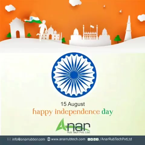 On this Independence day, feel pride to be an Indian and free to have rights of equality and livelihood in this golden country.  #happyindependenceday #RubberRollerManufacturer  #RubberRollerExporters  #RubberRollerSuppliers https://t.co/QmbL7Tb2mM